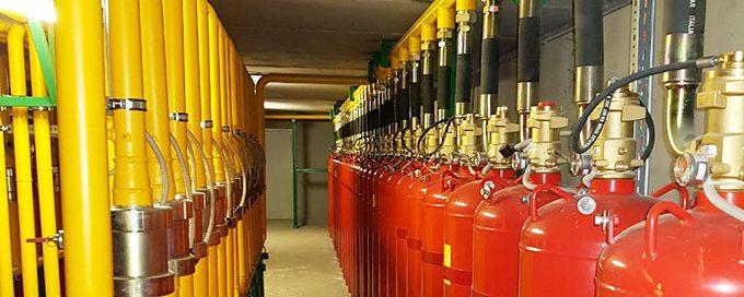 АУГПТ - автоматическая установка газового пожаротушения